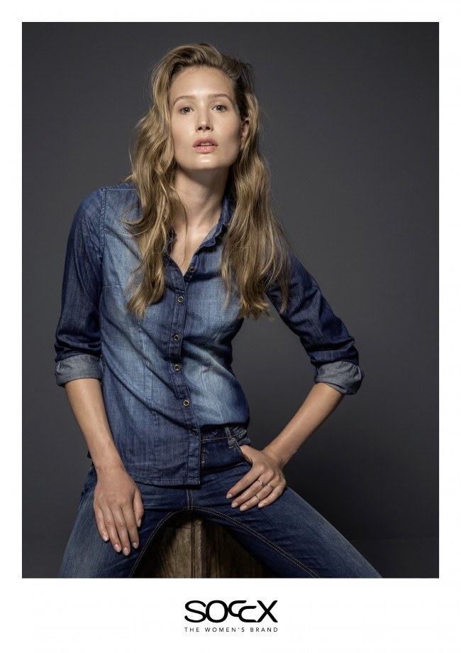 Lena Fishman for Soccx Denim