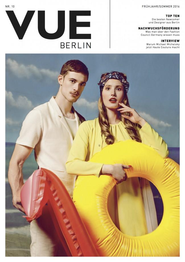 Model Lena Fishman for VUE Berlin