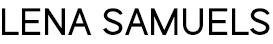 Homepage Lena Samuels
